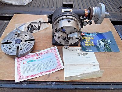 Vertex Cs6 Rotary Indexer , Indexing Spacer,  Vertical , Horizontal , 6""