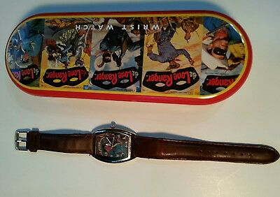 LONE RANGER WATCH With Box excellent used condition