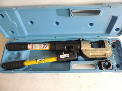 Reliable Rel-510K Kearney Hydraulic Crimper Crimping Tool With 2 Dies