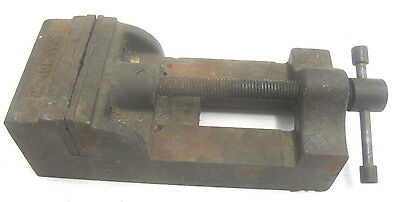 "Vintage Palmgren Drill Press Vise 4""Jaws Opens 4'' Jaw Depth - 1-3/4''"