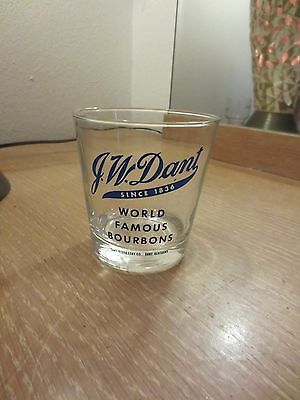 Rare Vintage J.w. Dant World Famous Bourbons Glass