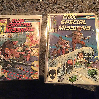 Gi Joe Special Missions #1-28..whole Series..nm.