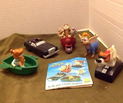Burger King's Oliver and Company (Disney's), complete set