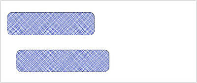 500 Self Seal Double Window Envelope | Item #CE27S