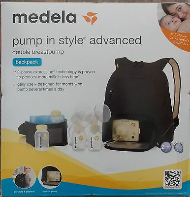 SEALED Medela Pump In Style Advanced Double Electric Breastpump with Backpack