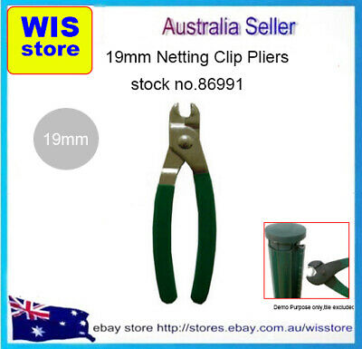GRN Handled Plier 19mm C-Clips Netting Clip Plier for Every Fencing Application