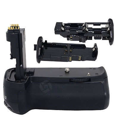 UK Mcoplus Battery Grip holder for Canon EOS 70D 80D DSLR Camera as BG-E14 LP-E6