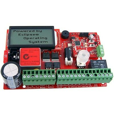 ELSEMA ECLIPSE MC BOARD – 1 x 12 or 24v SINGLE GATE MOTORS – MCS