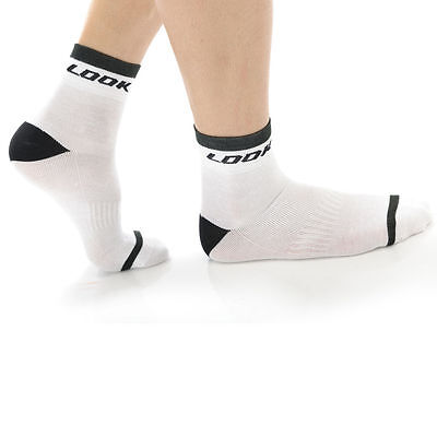 Look Classic Socks - White - Cycling Clothing