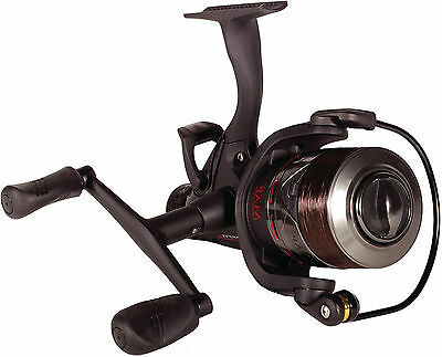 Map Carptek 4000 ACS Freespool Fishing Coarse Carp Reel & Spare Shallow Spool