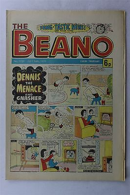 The Beano #1930 July 14th 1979 Vintage Comic Dennis The Menace