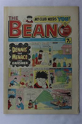 The Beano #1943 October 13th 1979 Vintage Comic Dennis The Menace