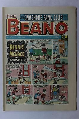 The Beano #2015 February 28th 1981 Vintage Comic Dennis The Menace