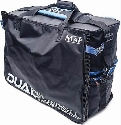 Map Dual Luggage Bags Carryall Accessory Bait Tackle Cool Fishing Bag