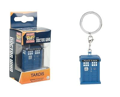 Funko Pocket Pop Keychain Doctor Who: Tardis Vinyl Action Figure Collectible Toy
