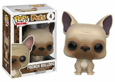 Funko Pop Pets French Bulldog Vinyl Stylized Action Figure Collectible Toy 11055