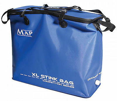 Map Eva XL Stink Net Bag Waterproof Screw Capped Drainage With Carry Straps