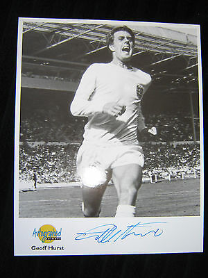 GEOFF HURST (West Ham) Signed photo_Westminster Collection_Genuine autograph
