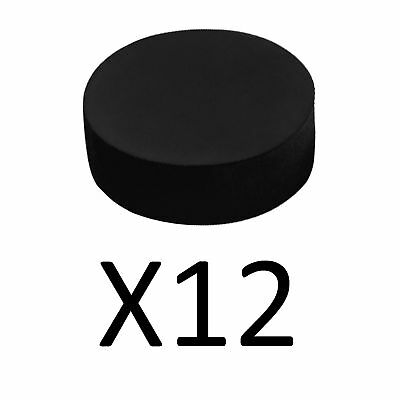A&R Foam Sponge Puck For Indoor Outdoor Practice Soft Squishy And Safe (12-Pack)