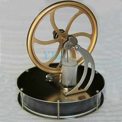 UK Low Temperature Stirling Engine for Motor Steam Heat Education Model & Toys