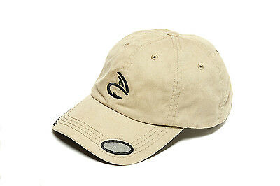 Fulling Mill Khaki Baseball Cap One Size With Fly Patch Fishing Hat