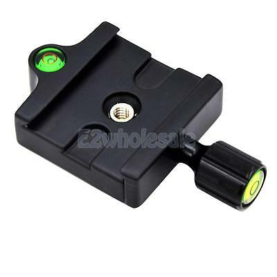 Portable Clamp and Quick Release Plate for Tripod Ball Head Camera Adapter