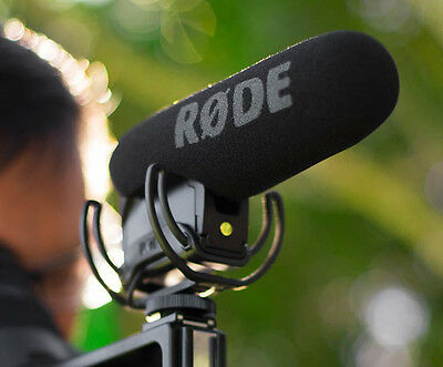 Rode VideoMic Pro-R On-Camera Shotgun Mic Video Mic Pro + Rycote Suspension VMPR