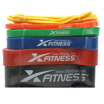 xFitness Pull Up Assist Resistance Stretch Band | Full Set of All 7 Bands