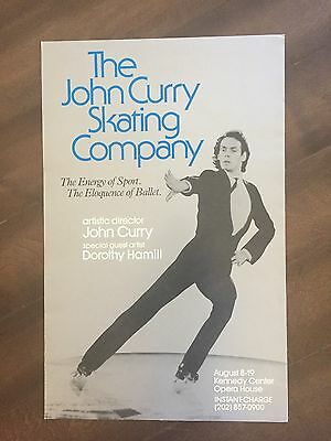 "14"" X 22"" Poster of the skating expo  ""The John Curry Skating Co""-Dorothy Hamill"