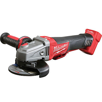 "M18 18V FUEL 4-1/2""/5"" Braking Grinder (Tool Only) Milwaukee 2783-20 New"