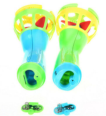 happy Childhood Outdoor Game Water Fun Play Toy Hand Held Bubble Blower GunV NB