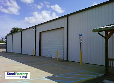 Steel Factory Mfg 40x60x15 Metal Frame Ibeam Workshop Storage Garage Building
