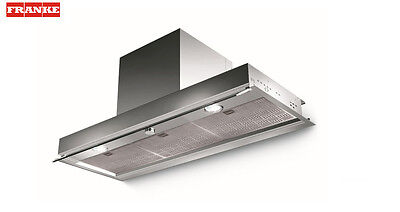 FRANKE STYLE LUX LED 1200mm Stainless Steel Built-In COOKER HOOD + Carbon Filter