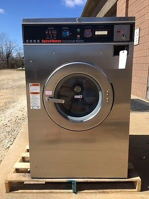 Speed Queen SC35MD Commercial 35lb Washer Dexter 1Phase  Huebsch Coin-Op Nice!