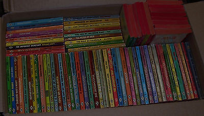Harlequin Romance Books With Red Edges ....lot Of 67... Some Older Published