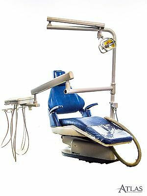 Blue Royal Signet 757Z Dental Patient Exam Chair w/ Delivery System & Light