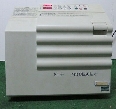 MidMark Ritter M11 UltraClave Autoclave Sterilizer M11 Good working