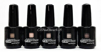 Jessica GELeration 0.5oz- SILHOUETTE Collection- Spring 2017 - Pick Any Color