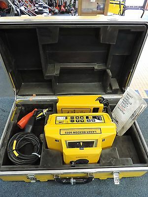 Laser Beacon 6025 Transit Interior Visible Beam Unit Rotary Level
