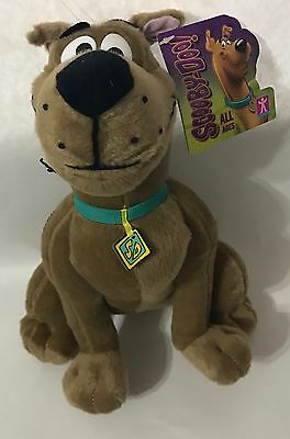 "SCOOBY- DOO Hanna-Barbera & Warner Bros sitting character 10"" Plush toy with tag"