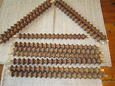 11 Wooden Spindles Fretwork Balusters Jenny Lind Architectural Salvage Vintage