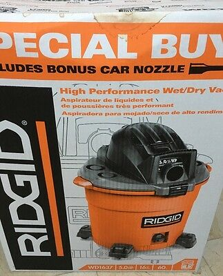 Ridgid High Perfomance Wet/Dry Vac