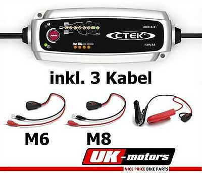 CTEK MXS 5.0 + 3 Cable Charger 12V Car Motorcycle car Offer