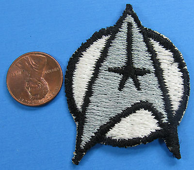 PATCH vintage Star Trek MOTION PICTURE insignia COMMAND Silver