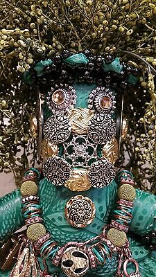 Original Mardi Gras Mischief Doll Cajun Mais Cher Medusa by Connie Born