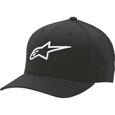 Alpine Stars Corporate Mens Headwear Cap - Black All Sizes