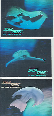 Star Trek TNG Inaugural Hologram Error #031, 034, 036
