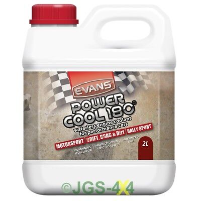 Evans Power Cool - Waterless Engine Coolant Antifreeze For Performance Cars 2L
