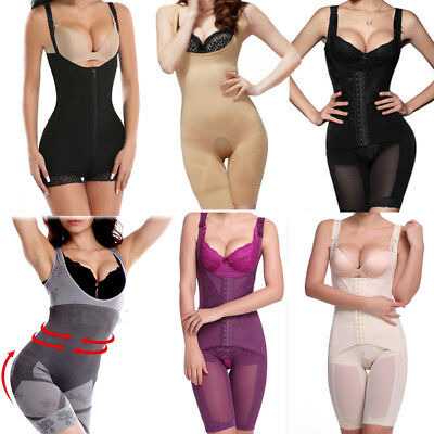 Women Full Body Underbust Waist Trainer Belt Shaper Corset Girdle Slim Cincher