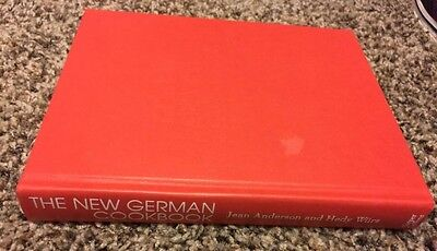The New GERMAN Cookbook Hardcover Harper/Collins by Anderson/Würz
